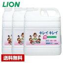 ライオン 業務用 キレイキレイ 薬用 泡 ハンドソープ 4L×3本