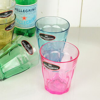 牢不可破的佩塔爾 · 不倒翁 275 毫升海神飽和聚酯樹脂在日本食品清洗機微波支援杯不倒翁時尚商業食品和飲料網點提供 7 種顏色