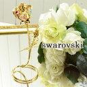 スワロフスキー 置物 ローズ 大 1604 バラ モチーフ 薔薇 雑貨 オブジェ オーナメント swarovski