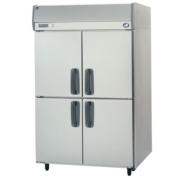 パナソニック (旧サンヨー) 業務用冷蔵庫 タテ型 SRR-K1283S (旧型番:SSR-J1283VSA)4ドアタイプ インバーター制御 ピラーレスタイプ幅1200×奥行800×高さ1950(mm)【 業務用 冷蔵庫 】【 パナソニック 冷蔵庫 】【 厨房機器 】