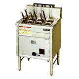 マルゼン 1槽式 角槽型ゆで麺器[ゆでカゴ6つ]MRK-066B