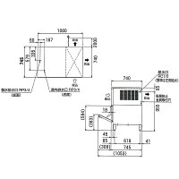 ʡ�繩����ɹ�������å�����240kg��1080×���745×�⤵1040(mm)FIC-A240KL1T�ʵ췿�֡�FIC-A240KL-T�ˡڶ�̳����ɹ����