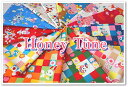 【シーチング】Honey Tune新柄♪2015≪ハニーチューン6≫ 昭和レトロなアニマル柄 生地 布 水玉 ドット 花柄 ルシアン