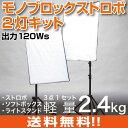 スタジオ撮影セット 120Wsモノブロックストロボ サイドライト2灯キット 撮影 照明 ライト led 物撮り ledライト 撮影キット 撮影セット 撮影用ライト 撮影用照明 ストロボ フラッシュ