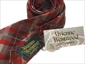 ヴィヴィアンウエストウッドナローネクタイ(7cm細幅)VW29【VivienneWestwood・ヴィヴィアンネクタイ・ネクタイブランド】ヴィヴィアンウエストウッドネクタイワイン/レッド【送料無料】