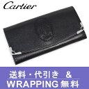 【Cartier】カルティエ 長財布(小銭入れあり)レディース マルチェロ ブラック L3001295【送料無料】