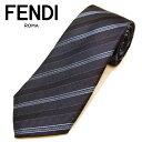 フェンディ ネクタイ(8cm) FFA8 【FENDI・フェンディネクタイ・ネクタイ ブランド