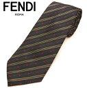 フェンディ ネクタイ(8cm) FFA44 【FENDI・フ...