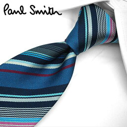 <strong>ポールスミス</strong> <strong>ネクタイ</strong>(8cm幅) PS12 【Paul Smith・<strong>ポールスミス</strong><strong>ネクタイ</strong>】【<strong>ネクタイ</strong> ブランド・ブランド<strong>ネクタイ</strong>】  ブルー/ネイビー系マルチストライプ【送料無料】