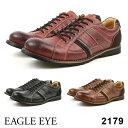 EAGLE EYE/イーグル アイ2179メンズ アンティーク加工カジュアルシューズBLACK BROWN WINEブラック ブラウン ワイン[楽天ランキング1位]