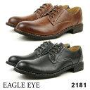EAGLE EYE/イーグル アイ2181メンズ アンティーク加工カジュアルシューズBLACK BROWNブラック ブラウン