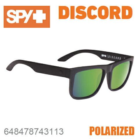 SPY スパイDISCORD ディスコード648478743113MATTE BLACKサングラス メンズ レディース ユニセックス 偏光レンズ スポーツ ファッション オシャレ