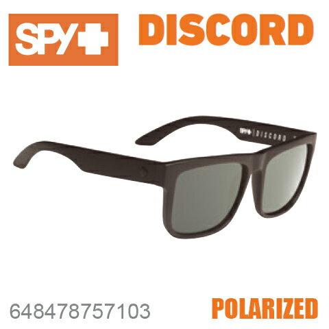 SPY スパイDISCORD ディスコード648478757103SOFT MATTE BLACKサングラス メンズ レディース ユニセックス 偏光レンズ スポーツ ファッション オシャレ