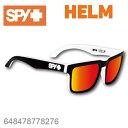 SPY スパイHELM ヘルム648478778276WHITEWALLサングラス メンズ レディース ユニセックス スポーツ ファッション オシャレ