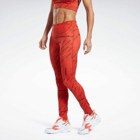 【公式】リーボック Reebok ワークアウト レディ オールオーバー プリント タイツ / Workout Ready Allover Print Tights レディース FK6868 トレーニング ウェア