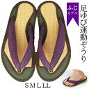 足ゆび運動ぞうり ふじモデル 4サイズ(S M L LL)健...