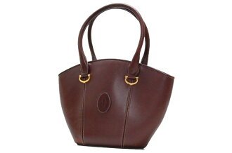 Cartier must line tote bag Bordeaux