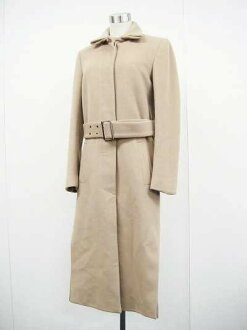 Gucci ladies long coat 38 beige fs3gm