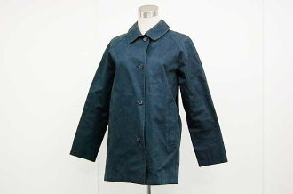 Burberry London women's convertible collar coat 2 Navy series fs3gm