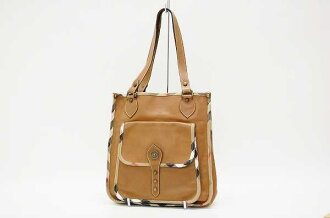 Burberry London leather tote Brown fs3gm