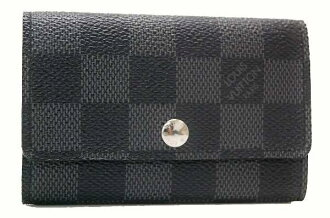 "Louis Vuitton ダミエグラ fit ""multicore 6"" 6 key holder N62662 brand new as well as fs3gm"