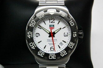 "Tag Heuer formula 1 Professional 200 m men's watch チタンコーティングベゼル white-shaped dial quartz WAC1111 ""response.""-fs3gm"