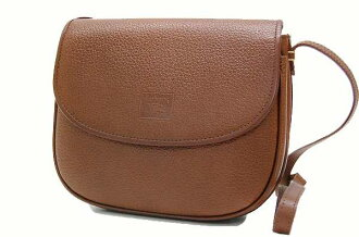 Burberry-leather shoulder bag Brown