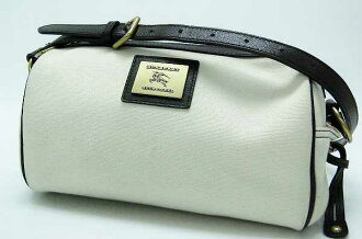 Burberry Blue label canvas shoulder bag ivory x Brown? s support.""