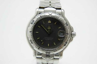 "Tag Heuer 6000 series professional 200 m men's watch grey letter Board WH1112 ""enabled."""