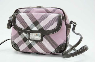 Burberry Blue label check shoulder bag pink s correspondence.""