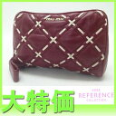 [MIUMIU] Miu miu cosmetics porch red X white 5N1519 [correspondence  easy  _ packing tomorrow comfortable used ] fs2gm fs2gm