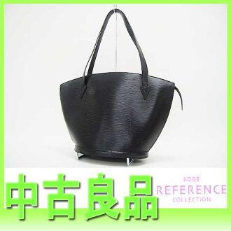 """""""Saint-Jacques shopping"""" Louis Vuitton EPI leather shoulder bag Creel black M52262 """"response.""""-fs3gm02P05Apr14M02P02Aug14"""
