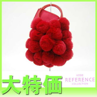 "Ante prima ballerina rabbit fur ""PONPON( plonk) Red with the ""wire bag porch-free 》 fs3gm for 《"