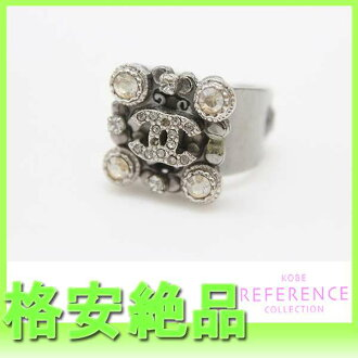 Ring 13 chrome silver 》 fs3gm with the CHANEL CC bijou for 《