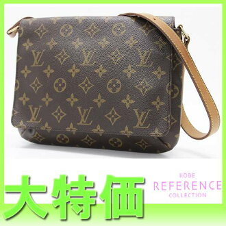 "Louis Vuitton Monogram ""Musette Tango"" short shoulder bag M51257? s support.""fs3gm"