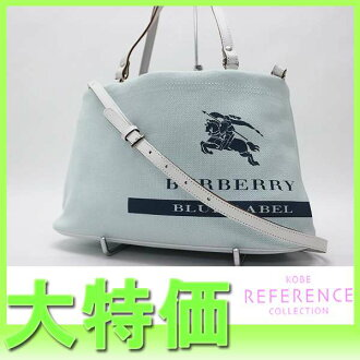 Burberry blue label 2WAY shoulder bag light blue 》 fs3gm for 《