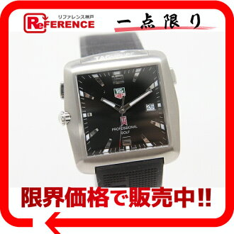タグホイヤータイガーウッズ-limited golf watch titanium rubber belt quartz black WAE110-0 》 fs3gm for 《