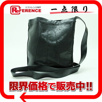 "Fs3gm ""トゥドゥ"" Hermes leather shoulder bag black ""response."""