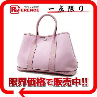 "Like Hermes ""garden party TPM"" tote bag トワルオフィシ ALE pink N ever-new ""response.""-fs3gm"