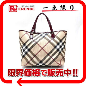 Burberry Supernova check tote bag beige and Bordeaux? s support.""