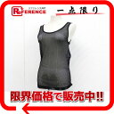 [CHANEL] It is 02P02jun13 36 CHANEL 03P sports mesh tank top identification black [correspondence 》【 easy ギフ _ packing tomorrow comfortable used 】《] [RCP]