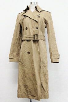 Ralph Lauren cotton long coat 4 beige 》 fs3gm for 《
