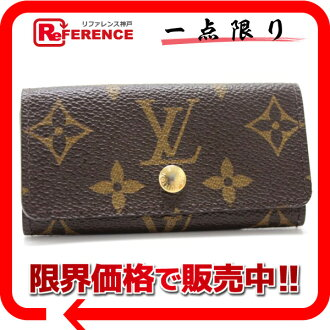 "Fs3gm Louis Vuitton モノグラムフルリ multicore 4 4-key case violet M60239 ""enabled."""