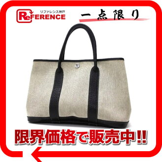 "Hermes ""garden party TPM"" limited ボルデュック tote bag toil ash grey ""response."""