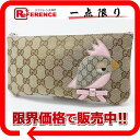 [GUCCI] Gucci kids gucci zoo gucci zoo porch bird beige X pink 284699 [used] [correspondence  fs2gm fs2gm tomorrow comfortable comfortable  _ packing ]