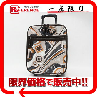 》 fs3gm 02P05Apr14M of Emilio Putsch Putsch pattern carrier bag Brown line for 《
