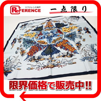 "Hermes silk scarf-""boyfriend"" as Pythagore (Pythagoras) Blue system new? s support."""
