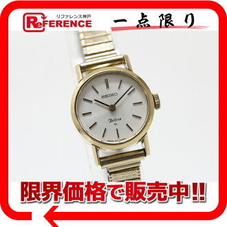 "Seiko ベルフィナ ladies Watch Gold hand-wound 1120-0060 fs3gm ""enabled."""
