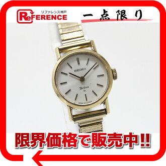 "Seiko ベルフィナ ladies Watch Gold hand-wound 1120-0060 fs3gm ""enabled."""