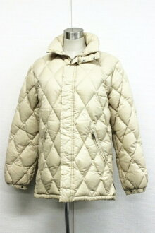 "MONCLER ladies down jacket 00 light beige s correspondence.""fs3gm"